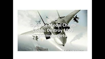 Ace combat 5 cheat codes