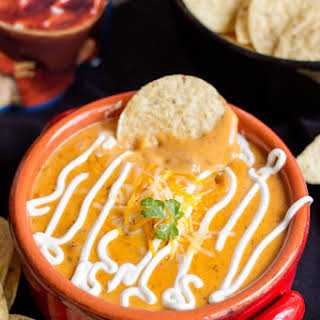Simple Chili Cheese Dip.