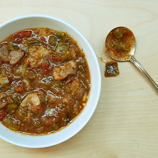 Green Chile Beef Stew Recipe