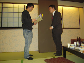 Photo: 2010年度追い出しコンパ