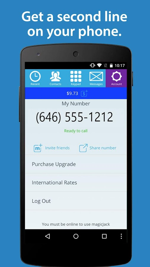 Screenshots of magicApp Calling & Messaging for iPhone