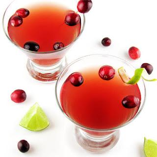 Vodka Cranberry Cocktail.