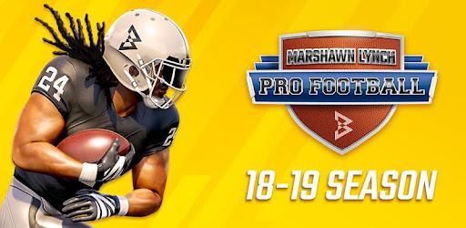 Marshawn Lynch Pro Football 19 captures d'écran