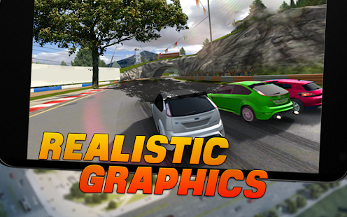 Traffic Speed Racer In Car Real City Highway Drift - náhled