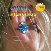 Conch Piercing Designs