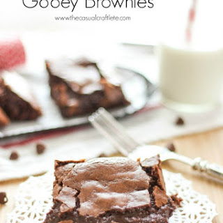 Made From Scratch Gooey Brownies.