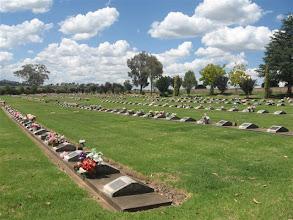 Photo: hřbitov Cowra