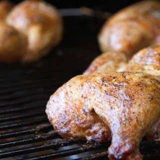 BBQ Chicken With Alabama White Sauce.