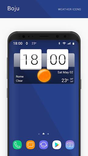 Boju weather icons 1.00.06 screenshots 3