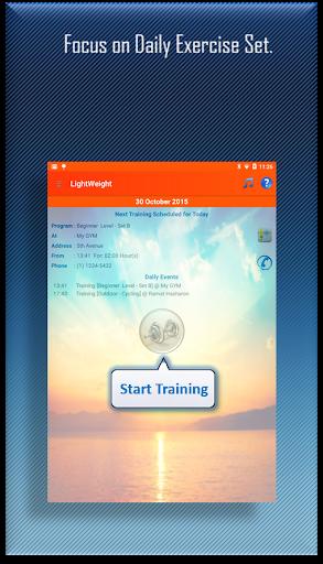 LightWeight Training Fitness