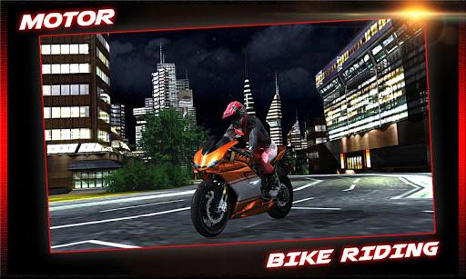 摩托车骑马&停车场