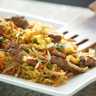 Thai-Style Beef Salad.