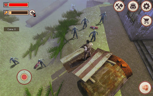 Zombie Survival Last Day  captures d'u00e9cran 1
