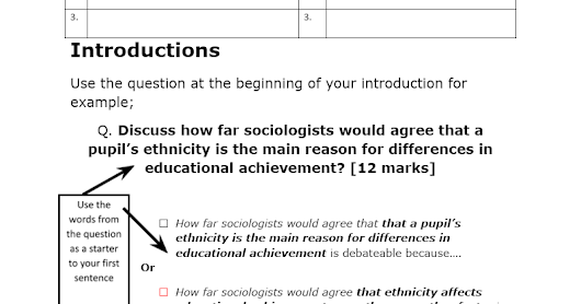 012a How to answer 12 mark questions Ethnicity Achievement.docx