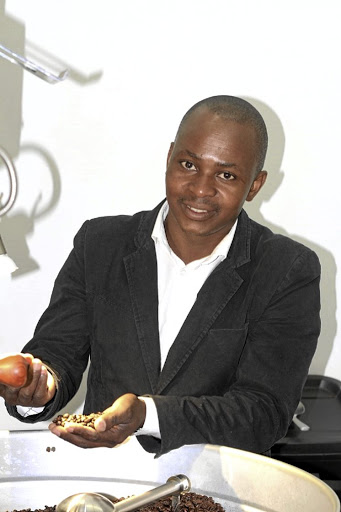 Sihle Magubane, the owner of Sihle's Brew.