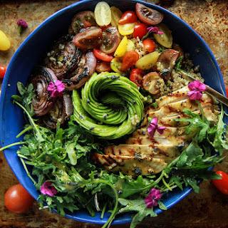 California Chicken Quinoa Bowl.