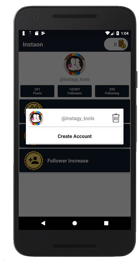 Instaon - Analyzer for Instagram Follower- screenshot