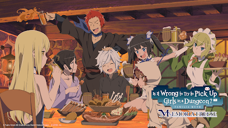 DanMachi - MEMORIA FREESE APK screenshot thumbnail 3
