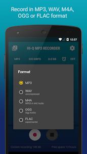 Hi-Q MP3 Voice Recorder (Free) Mod 2.8 Apk [Unlocked] 4