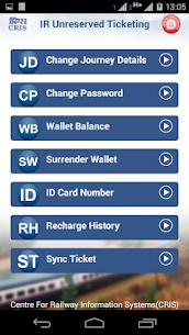 UTS on mobile app – Indian Railways 4