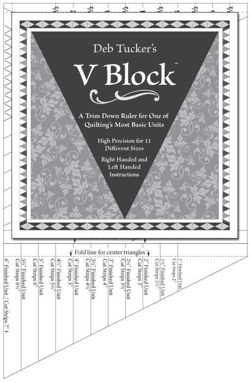 Linjal Studio 180 V-Block (12007)