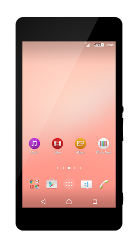 Renovatio Pink Theme