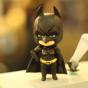 Call me Batman by Timmothy Tjandra - Artistic Objects Toys ( super, hero, superman, boys, batman, bokeh, boy, anime, black )