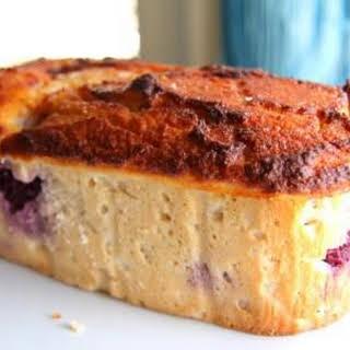 Blackberry, Lemon and Sour Cream Pound Cake.