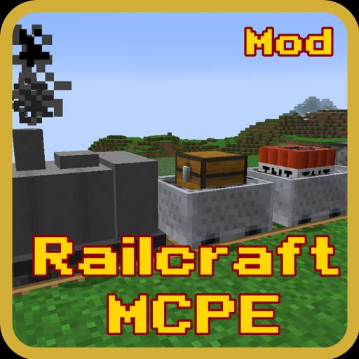 mod for rail craft mcpe