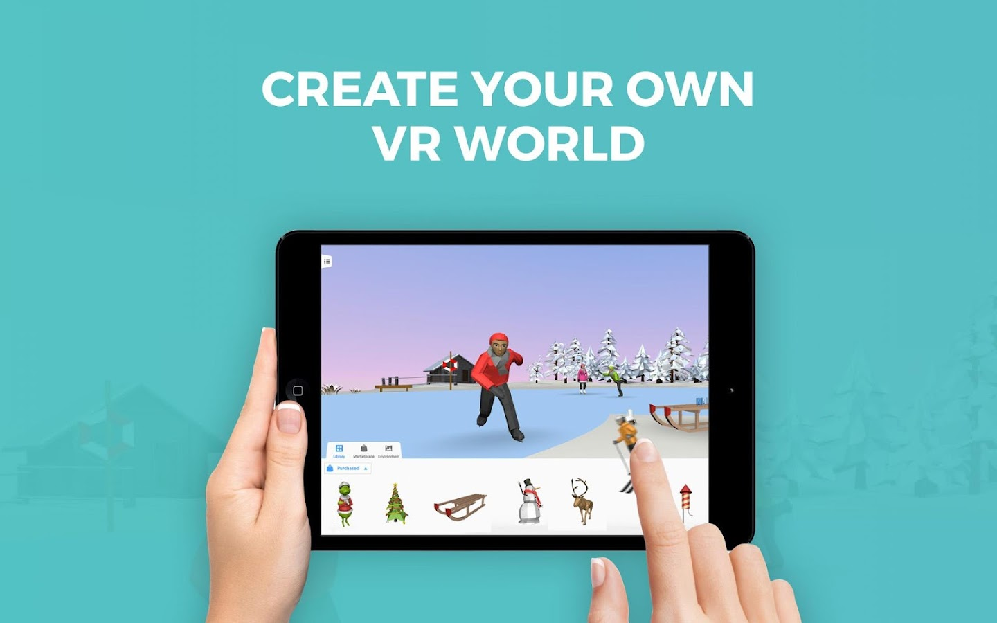 CoSpaces Maker – Make your own virtual worlds- screenshot
