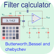 Filter calculator- RC, RL, RLC and active filter