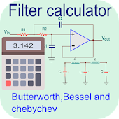 Filter Calculator- RC, RL, RLC And Active Filter Android APK Download Free By Anas Abubakar
