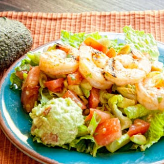 Shrimp-topped Mexican SaladRecipe