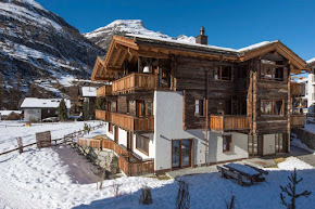 A 10 Bedroom Grand Chalet in Matterhorn Capital in zermatt