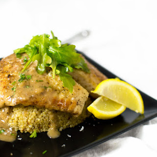 Tilapia with a 4-Herb Wine Sauce