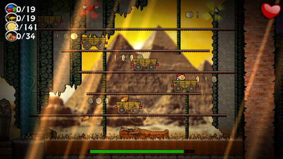 Canyon Capers Screenshot