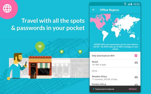 Instabridge - Free WiFi Passwords and Hotspots screenshot 3
