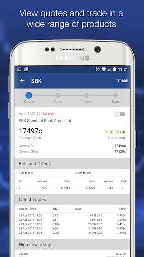 Standard bank jse trading platform