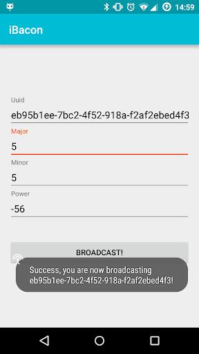 iBacon  screenshots 2