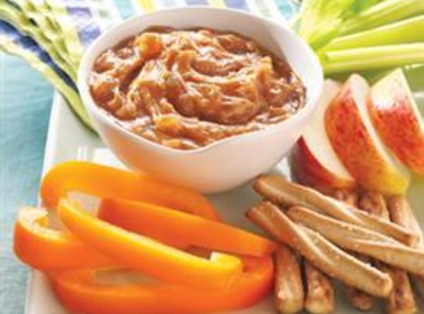 Apple Cinnamon Peanut Butter Dip Recipe