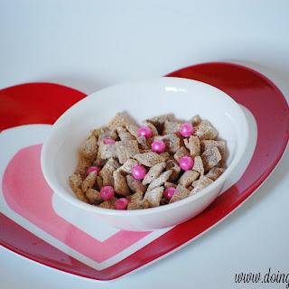 White Chocolate Nutella Chex Mix.