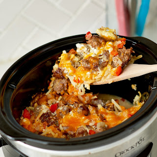 Slow Cooker Hash Brown Casserole.