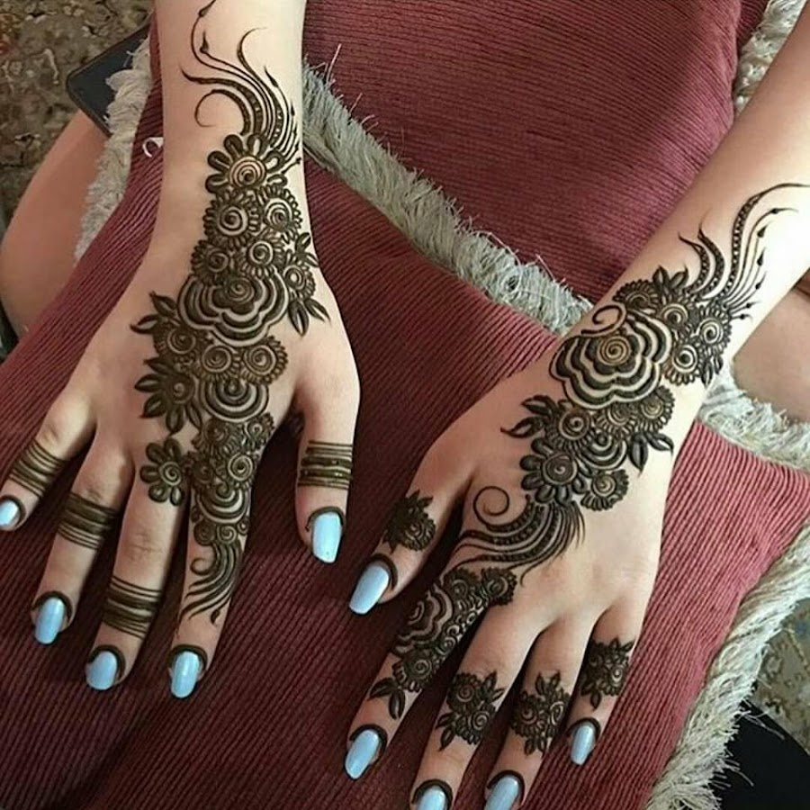 Mehndi Patterns What Are They : Uae style mehndi designs android apps on google play