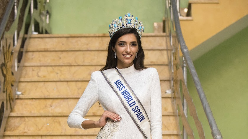 La almeriense Ana García Segundo, Miss World Spain 2020.