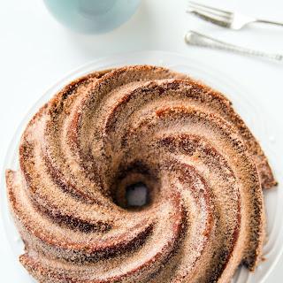 Churro Bundt Cake.