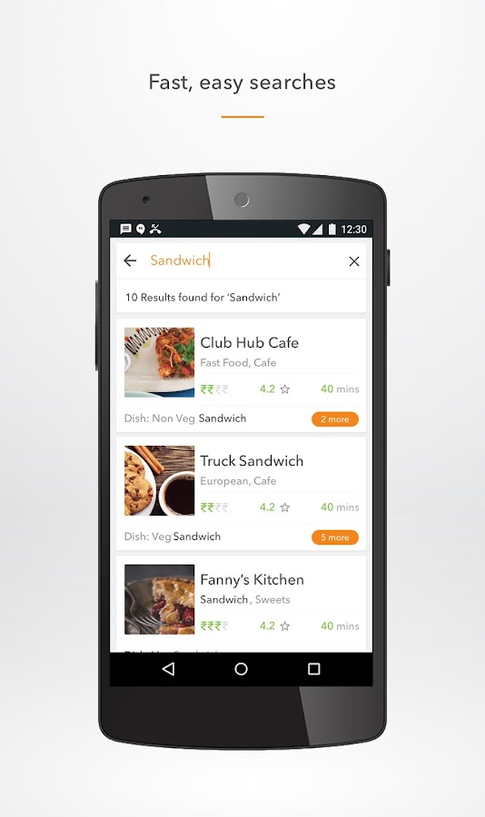 Food Delivery Android