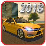 New York Taxi Driver 3d Icon