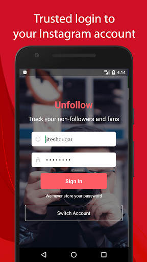 Foto do Unfollow for Instagram - Non followers & Fans