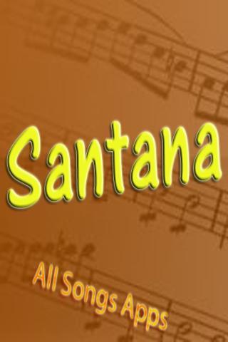 All Songs of Santana