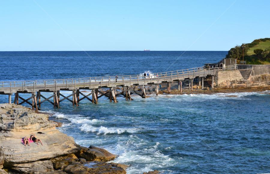 Bare Island Bridge by Mark Zouroudis - Buildings & Architecture Bridges & Suspended Structures ( , bridge )
